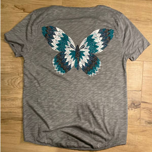Zadig & Voltaire Butterfly V-Neck T-Shirt